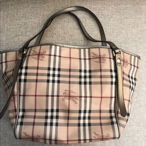 Burberry Haymarket Bag